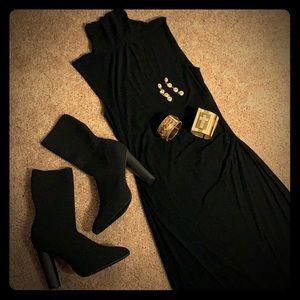Black Fitted Diane Von Furstenberg Dress